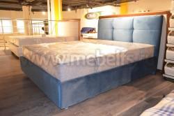 Кровать Рени 80х200 с мягкой спинкой и подъемным механизмом