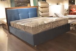 Кровать Рени 120х200 с мягкой спинкой и подъемным механизмом