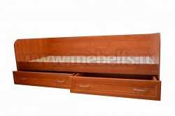 Тахта с двумя ящиками (рамка МДФ, ольха)