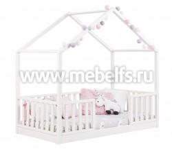 Кровать-домик кидс №24 80х160 из массива