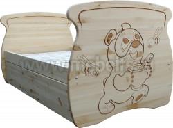 Кровать детская Машенька 80х150 из массива сосны.