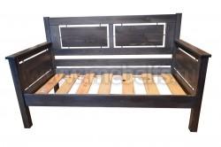 Кровать тахта Брамминг 70х150 из массива сосны