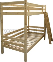 Кровать двухъярусная Валерия (разбирается на две кровати).