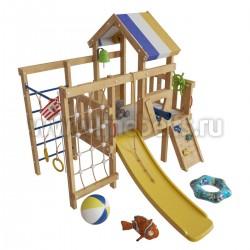 Игровой комплекс кровать-чердак Немо для дома и дачи