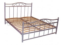 """Двуспальная металлическая кровать """"Венеция-1""""."""