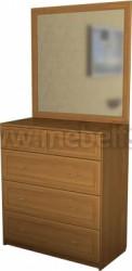Комод для белья с зеркалом №2 (Б).