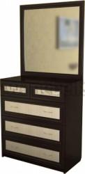 Комод для белья с зеркалом №2 (ВДМ).