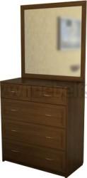 Комод для белья с зеркалом №2 (ОЭ)
