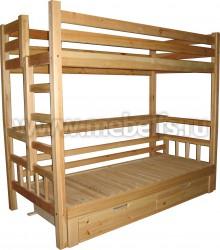 Кровать двухъярусная из сосны Чердак-Канада.