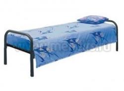 """Кровать детская металлическая """"Спарта"""" (сета зиг-заг) 84x190см."""