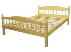 Кровать двуспальная деревянная F2 140х200 из массива.