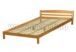 Двуспальная кровать Лена-2 из массива (160х200см).
