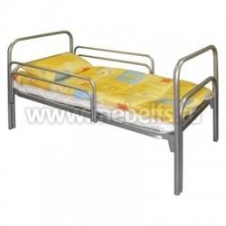 """Кровать односпальная на металлокаркасе """"Детская"""" 74х130см."""
