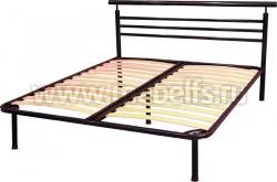 """Кровать металлическая двуспальная """"Александра"""" 160х190см."""