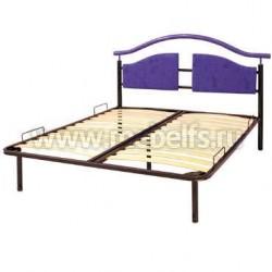 """Металлическая двуспальная кровать """"Евгения"""" 160х190мм."""