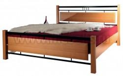 Двуспальная кровать мк27.22 (160x200).