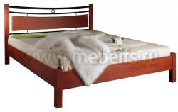 Двуспальная кровать жк8.2.23.1(160х200).