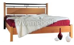 Двуспальная кровать мк27.22.1(160х200).