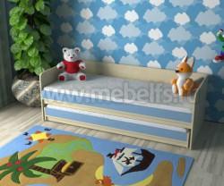 Двухъярусная кровать для двоих детей Дуэт-7 (ДМС).
