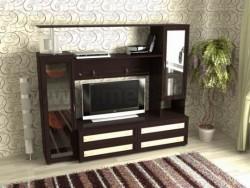 Мебельная стенка Соната-1 (без шкафа) для гостиной.