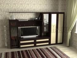 Мебельная стенка Соната-1 (шкаф 400) для гостиной.