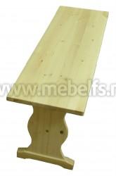 Скамейка к столу дачному Пивной