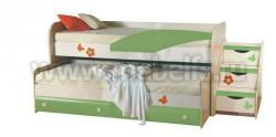Двухъярусная кровать для детей ИЗД№36 (ДБЭ).
