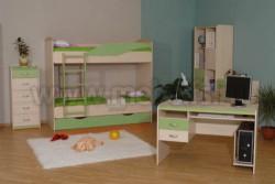 Детская комната мебель НМЖК 4.5.М.3 (ДБЭ).