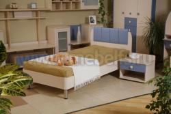 Кровать детская  ИЗД№14 (МК№26).