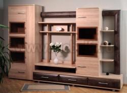 Мебельная стенка МК№31 (ЧСД) для гостиной.