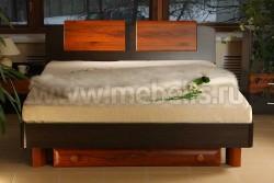 Двуспальная кровать с ящиком ИЗД№16 (МК№28) (160х200).