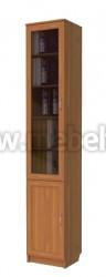Узкий шкаф для книг (арт.201)