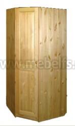 Шкаф угловой Оскар 880 из массива сосны