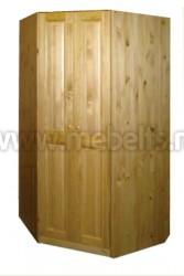 Шкаф угловой Оскар 1020 из массива сосны
