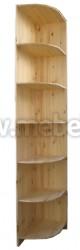 Угловая секция к шкафу Оскар (с антресолью 51см) 300.