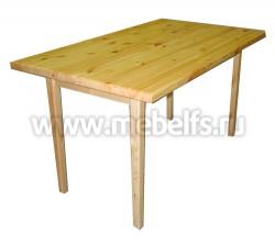 Стол обеденный 80x140 из массива сосны
