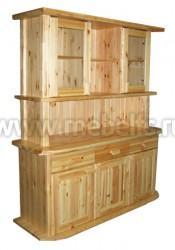 Шкаф буфет Скандинавия из массива сосны.