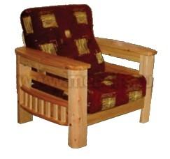 Кресло Фокус из массива сосны.