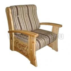 Кресло Баю-бай из массива сосны.