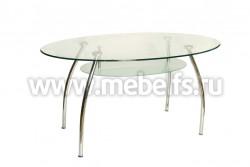 Стеклянный стол F-2022