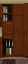 Мебель для детской комнаты - секция секретер (Я).