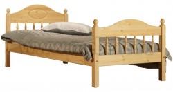 Кровать односпальная детская F2 70х150 из сосны.