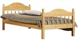 Кровать односпальная детская F2 120х200 из сосны.