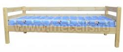 Односпальная кровать тахта Гусар (80х190) из массива сосны.