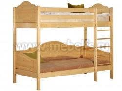 Детская двухъярусная кровать К3 (70х150см).