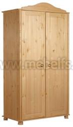 Шкаф 2-створчатый Айно из массива сосны