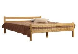 Кровать односпальная деревянная Классика (120х200).