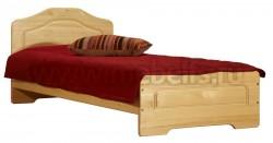 Односпальная деревянная кровать Эрика (90х200) из массива.