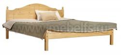 Односпальная кровать из дерева К1 (120х200).
