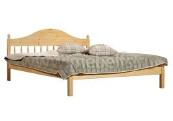 Односпальная кровать F1 (120х200см) из массива сосны.